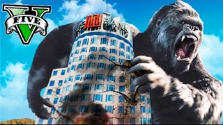 KING KONG SUR GTA 5 !