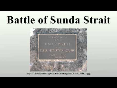 Battle of Sunda Strait