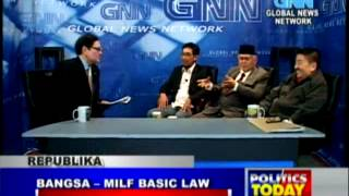 """BANGSA-MILF BASIC LAW"" 1/5"