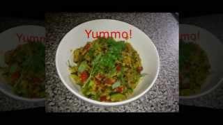 Curried Oats Low Calorie Breakfast - 45 Sec Video