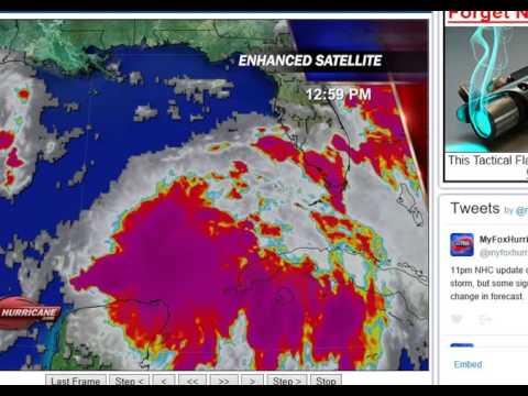 Gulf Tropical Map Aug  30th