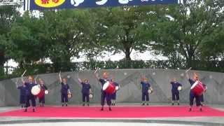城西エイサ隊さん  結城舞祭2014 結城舞衣 動画 28