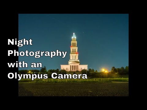 Vlog: Night Photography with the E-M10ii ep.81