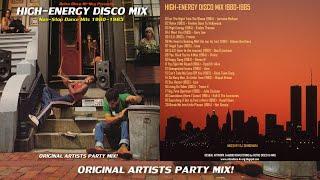 HIGH ENERGY ⚡ DISCO MIX 1980 1985 Hi-Nrg Italo Disco Eurobeat synth pop dance 80s