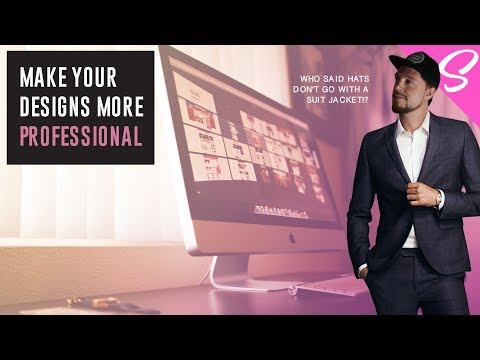 HOW TO MAKE YOUR DESIGNS MORE PROFESSIONAL - What Makes A Graphic Design Professional?