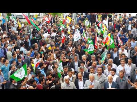 Kahta'da Turanlı Ailesi HDP'ye Katıldı
