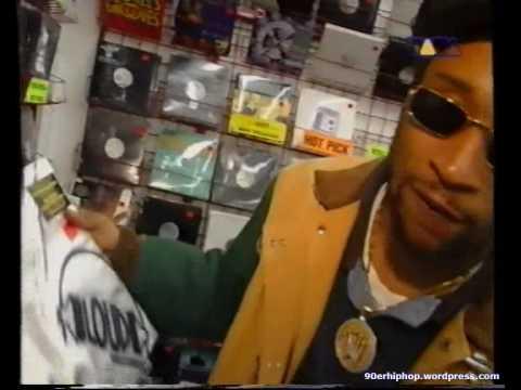 Lord Jamar (Brand Nubian) goes shopping for Vinyl [1995]