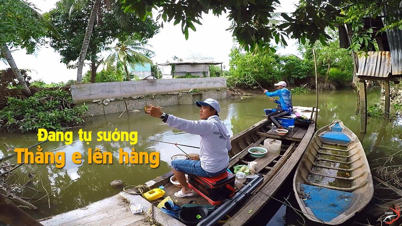 FISHING . TRẢI NGHIỆM CÂU ĐÀI TRÊN GHE THẬT THÚ VỊ