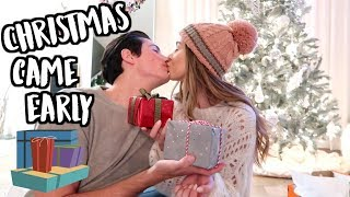 CHRISTMAS CAME EARLY! VLOGMAS DAY 17!