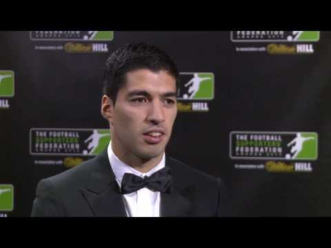 Suarez Lands FSF Player of the Year Award 2013
