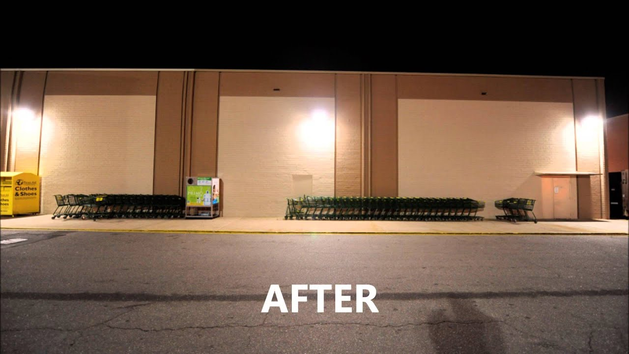 Lowes Foods Parking Lot Lighting Case Study-Replacment of Metal Halide with Induction - YouTube : lowes high pressure sodium lights - azcodes.com