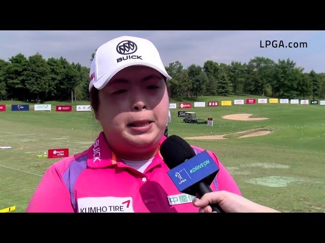 Shanshan Feng Pre-Tournament Interview at the 2019 Buick LPGA Shanghai
