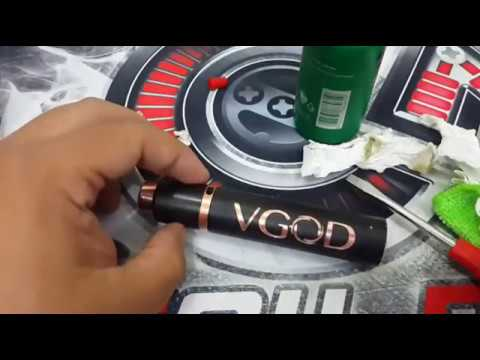 Mechanical Mod Threads Cleaning (Indonesian)