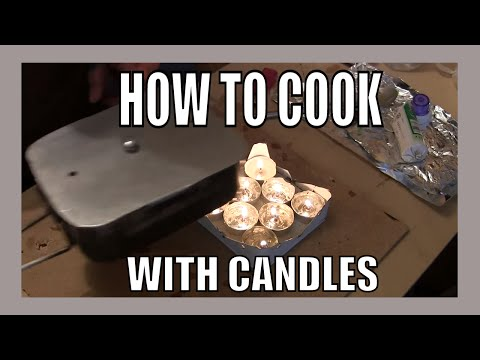 How to Cook with Candles in shtf