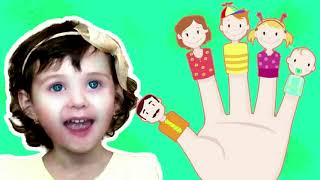 Sing along to the The Finger Family Song Nursery Rhyme with Yasmina | Music For Children