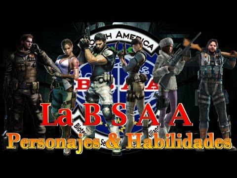 La B.S.A.A.  Personajes & Habilidades