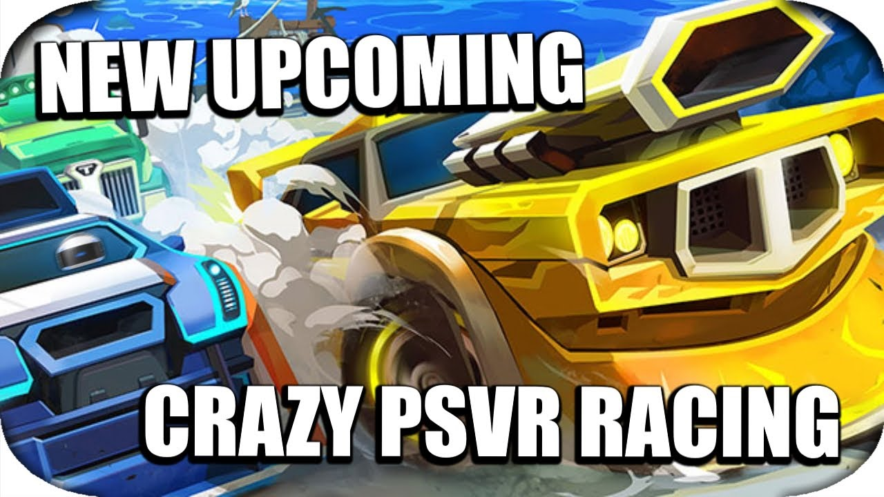 PSVR - Upcoming Amazing Third Person Racing Game! (Tiny Trax)