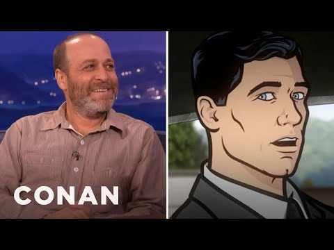 H. Jon Benjamin Panicked When He Was Cast As Archer - CONAN ...