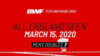 BWF Total Recall | Yuta Watanabe Bday | All England Open 2020 | Men's Doubles F | BWF 2020
