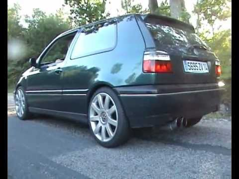 golf 3 2l gti 16s hard sound accel youtube. Black Bedroom Furniture Sets. Home Design Ideas