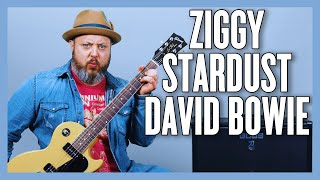 David Bowie Ziggy Stardust Guitar Lesson + Tutorial