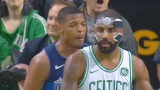 Kyrie Irving Makes ROOKIE REGRET TRASH TALKING AND TAUNTING HIM!!!