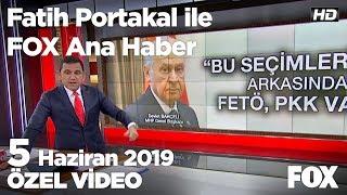 Ekrem İmamoğlu memleketi Trabzon'da... 5 Haziran 2019 Fatih Portakal ile FOX Ana Haber