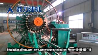 steel cage welding machine for concrete pipe