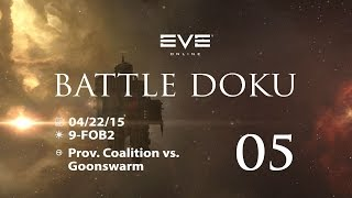 [EvE Online] - Battle Doku - 05 - 08/23/15 // ASSAH - PROVIBLOC vs. Goons