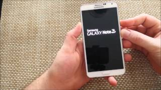 Samsung galaxy note 3 how to enter / exit safe mode safemode for troubleshooting your phone