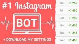 Best Instagram Bot 2019 (Followers on AUTOPILOT)