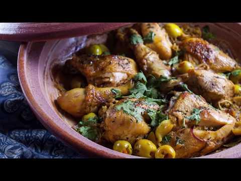 Moroccan Chicken Tagine Dina's Oriental Kitchen