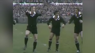 Watch: All Blacks perform haka in 1973 – it's not great