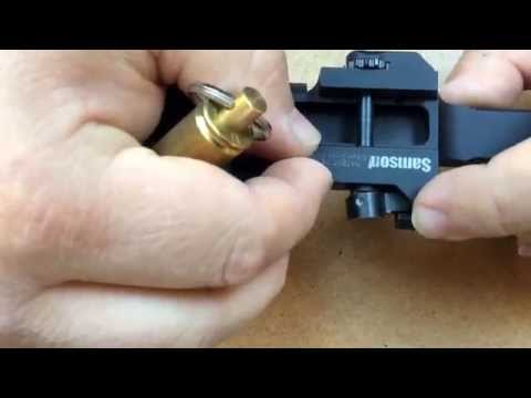 Samson R.A.M. ( rotary actuated mount) Adjustable tension mounting system for picatinny rail