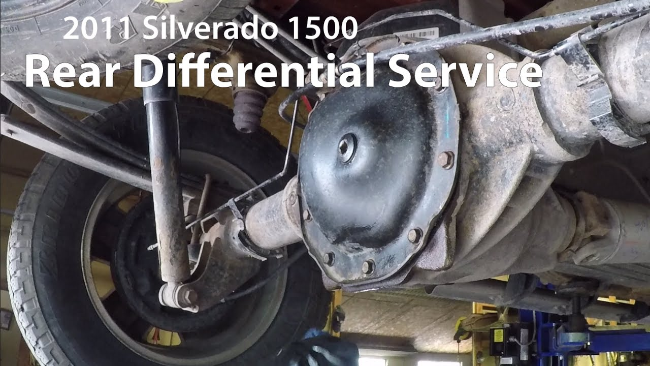 2011 Silverado: Rear Differential Service