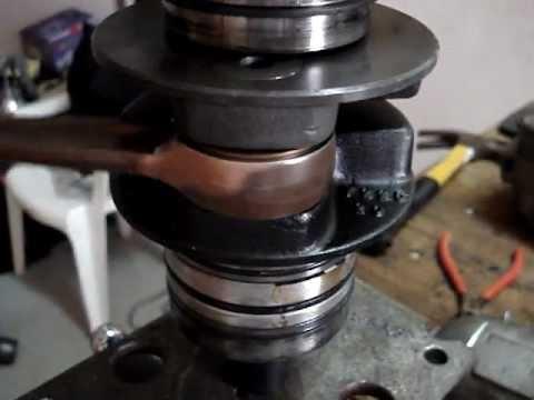 Rotax 582 cranckshaft conrod failure
