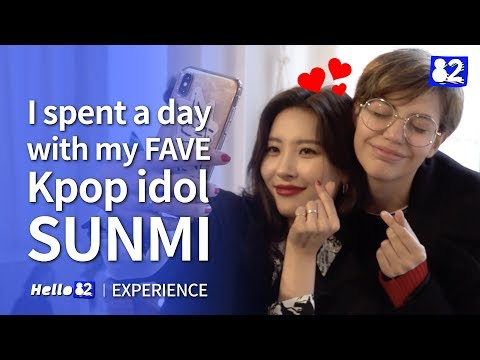 I SPENT A DAY WITH MY FAVE KPOP IDOL SUNMI Mp3