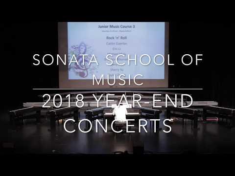 Sonata Yamaha School of Music 2018 Year end Concerts