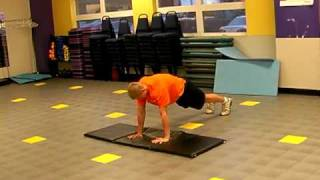 Faster Swimming dryland routine called core complex