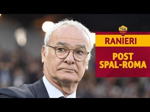 SPAL-ROMA 2-1 | Claudio Ranieri commenta la gara dello Stadio Paolo Mazza