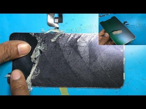 how to clean glue/oca lcd iphone x