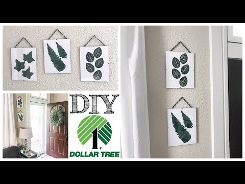 DIY Dollar Tree Farmhouse Wall Decor | UNDER $10!