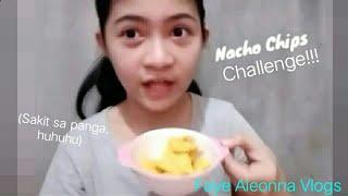 Nacho Chips Challenge!!!😐😐😂😂😂😂 (sakit sa panga)- Faye Aleonna Vlogs