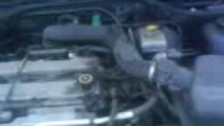 ford escort 1.6 zetec engine idle problem