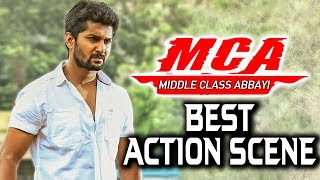 MCA (Middle Class Abbayi) Best Action Scene | South Indian Hindi Dubbed Best Action Scenes