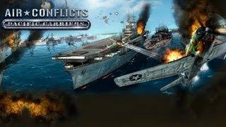 Air Conflicts - Pacific Carriers  |  Rezension (Test / Review) | LowRez HD | deutsch