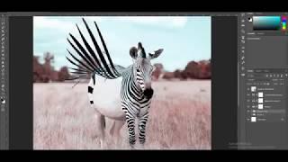 動物たちの写真にフォトショで魔法をかけてみた。リアルとバーチャルが交差するSFファンタジーなクリーチャーが誕生した。
