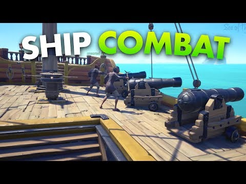 Intense Ship Battles in Sea of Thieves (Sea of Thieves Gameplay)
