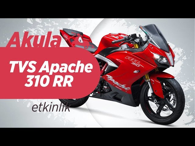 TVS Apache 310 RR Akula - 2018 Motobike Motosiklet Fuarı