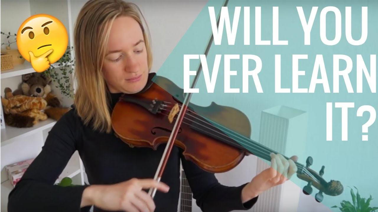 3 Signs that You'll Become Good at Violin Playing